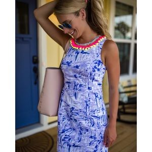 NWT Lilly Pulitzer Mila Shift Lilac Rock the Dock